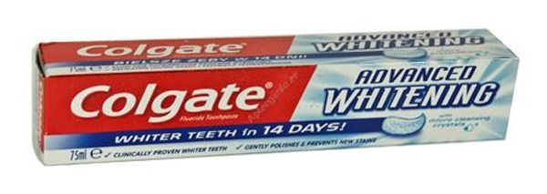 9867a93952b COLGATE HAMBAPASTA ADVANCED WHITENING 75ML