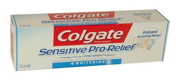 50a17e9a743 COLGATE HAMBAPASTA SENSITIVE PRO RELIEF WHITENING 75ML