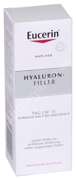 1911ae2ff76 EUCERIN HYALURON FILLER PÄEVA- KREEM NORM JA KOMB.NAHALE 50ML